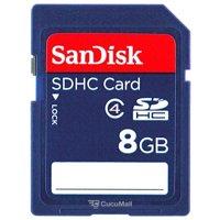 Photo SanDisk SDHC 8Gb